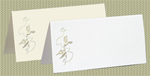 Embossed Doves, White Pearl Foil