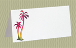 Place Cards, Palm Trees, 10 Place Cards
