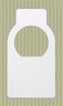 Wine Cellar Tag, Blank, 100 Tag Package