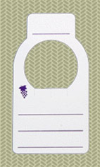Wine Bottle Cellar Tags