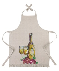 WHITE WINE APRON BY JUILA JUNKIN