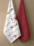 JINGLE BELLS AND DOTS TOWELS